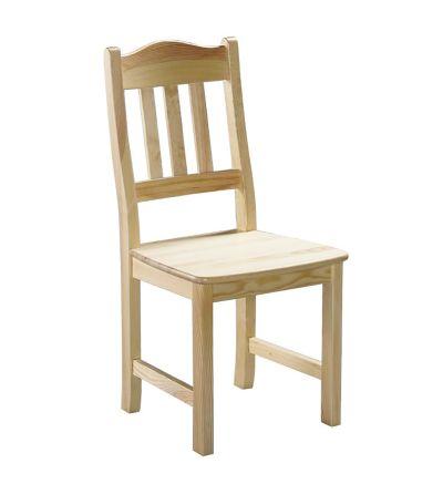 Jonna stol lackad furu