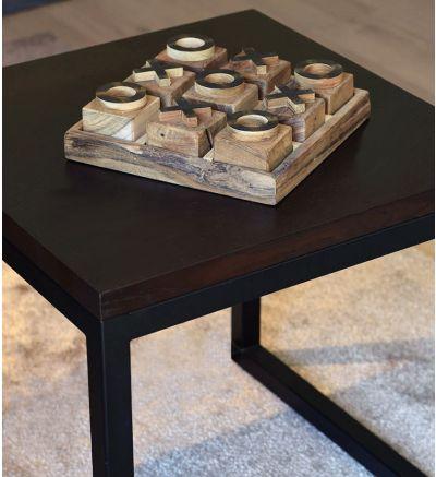 Ståhl soffbord- L50x50 H50cm