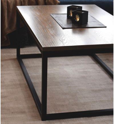 Ståhl soffbord-L130 B75 cm H50