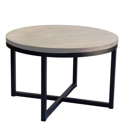 Ståhl soffbord-Ø80cm